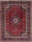 10' x 13' 2 Kashan Persian Rug thumbnail