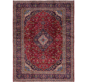 10' x 13' 2 Kashan Persian Rug main image