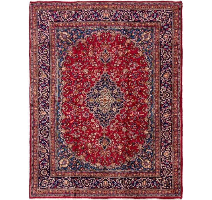 9' 5 x 12' 10 Mashad Persian Rug