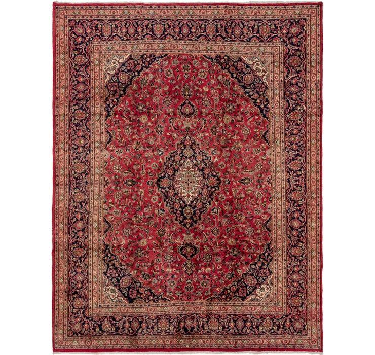 292cm x 375cm Mashad Persian Rug