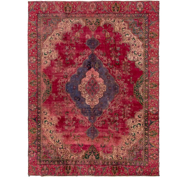 8' 10 x 11' 7 Tabriz Persian Rug