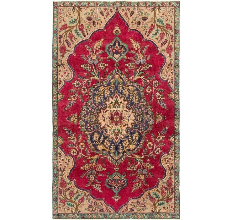 4' 10 x 8' 5 Tabriz Persian Rug