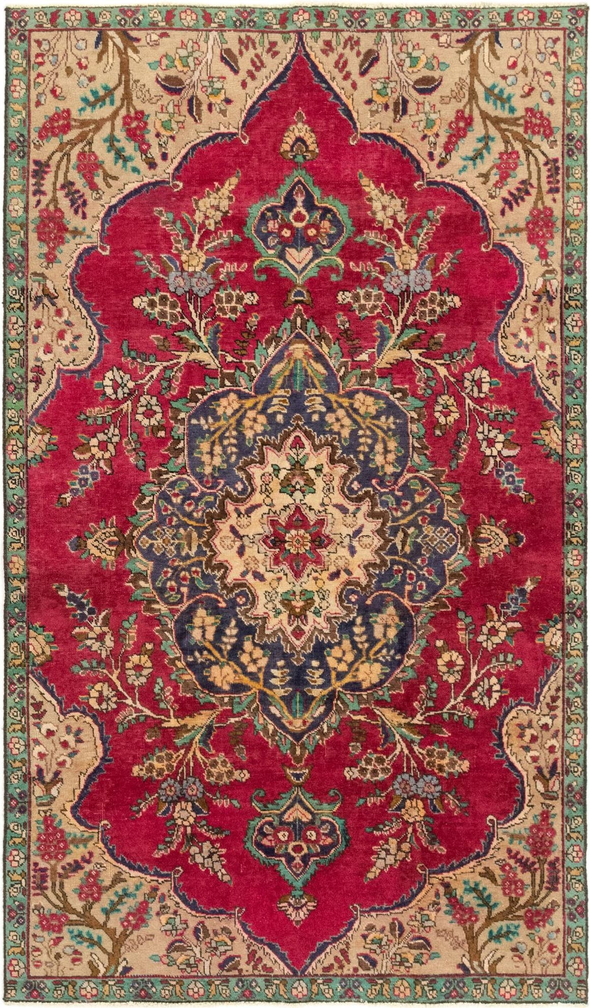 4' 10 x 8' 5 Tabriz Persian Rug main image