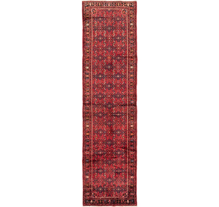 107cm x 422cm Hossainabad Persian Run...