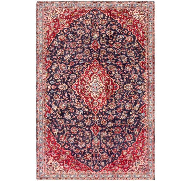 5' 10 x 9' 2 Kashan Persian Rug