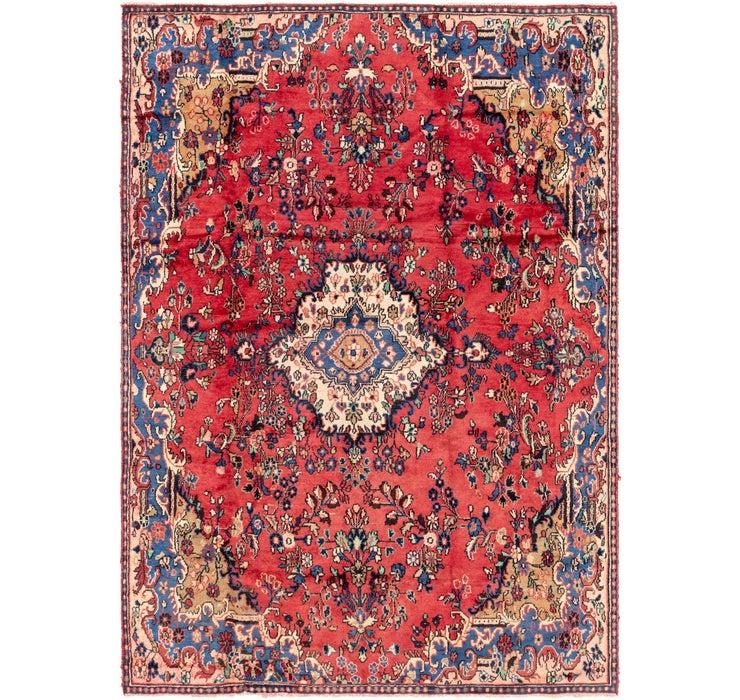 7' 7 x 10' 9 Hamedan Persian Rug