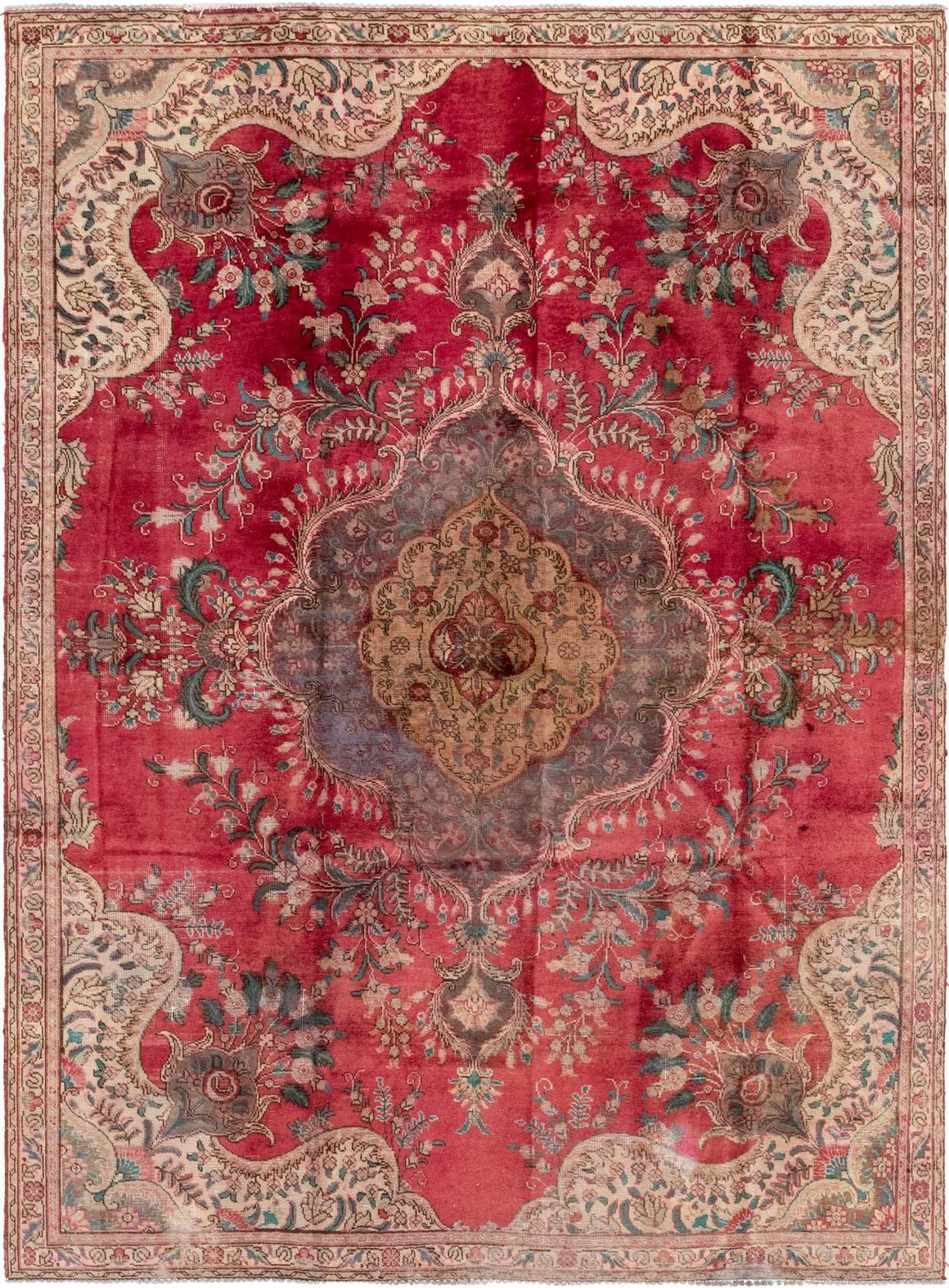 7' 2 x 10' Tabriz Persian Rug main image