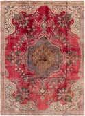 7' 2 x 10' Tabriz Persian Rug thumbnail