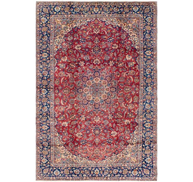270cm x 405cm Isfahan Persian Rug