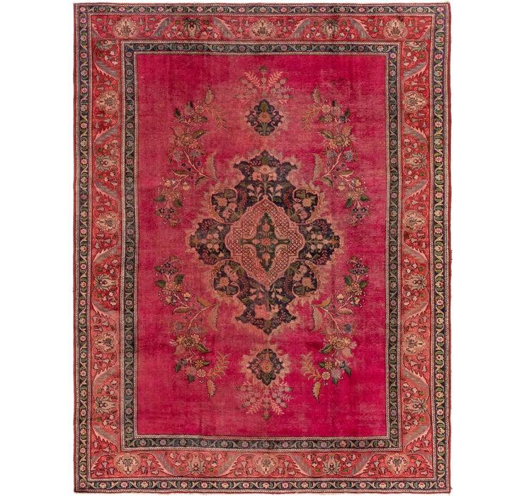 9' 6 x 12' 9 Tabriz Persian Rug