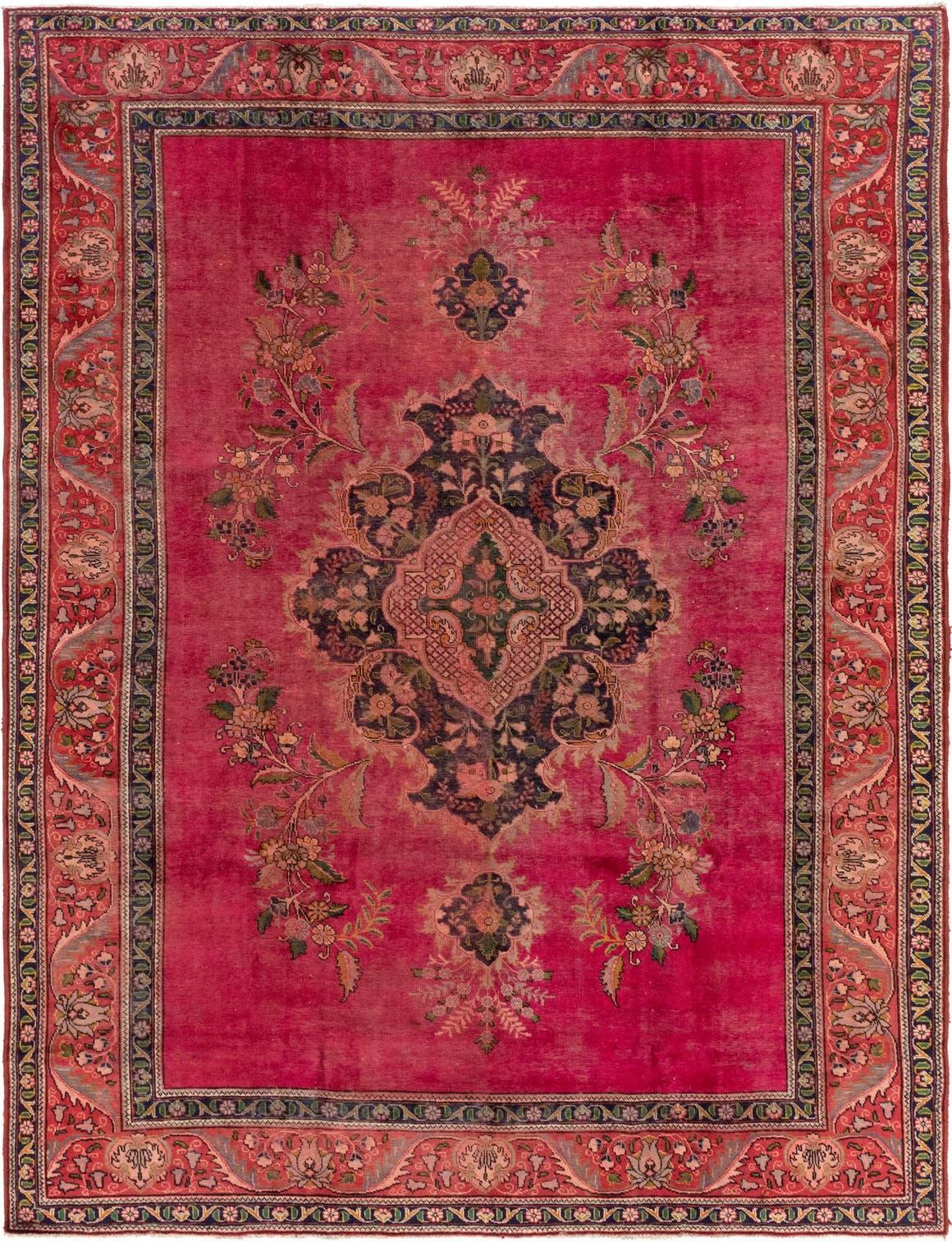 9' 6 x 12' 9 Tabriz Persian Rug main image