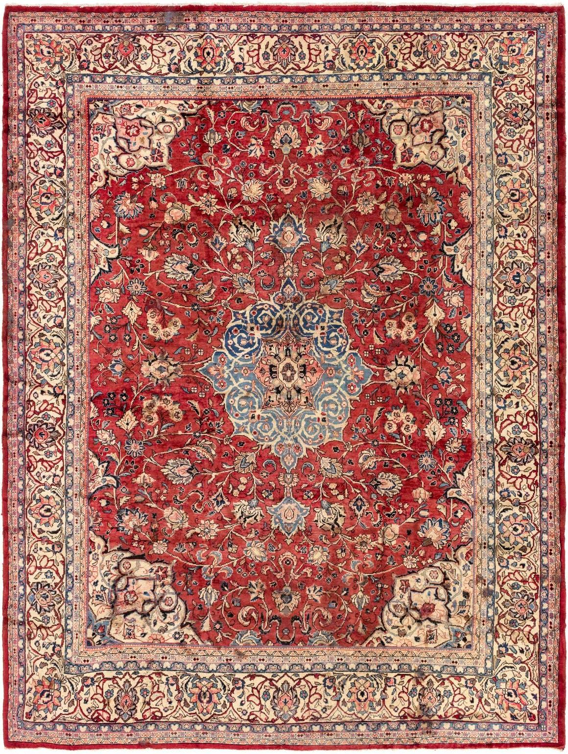 10' 4 x 13' 7 Meshkabad Persian Rug main image