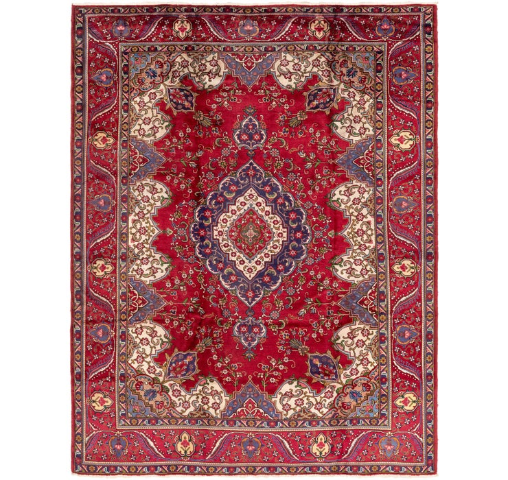 Image of 9' 8 x 12' 9 Tabriz Persian Rug