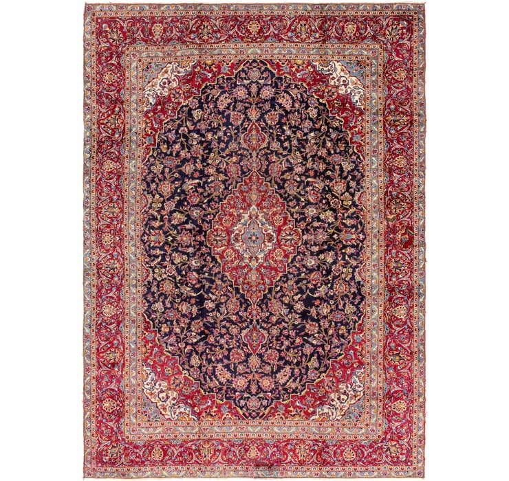 282cm x 395cm Kashan Persian Rug
