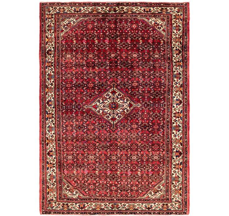 7' x 10' Hossainabad Persian Rug
