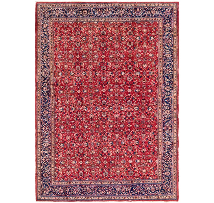 257cm x 365cm Mashad Persian Rug