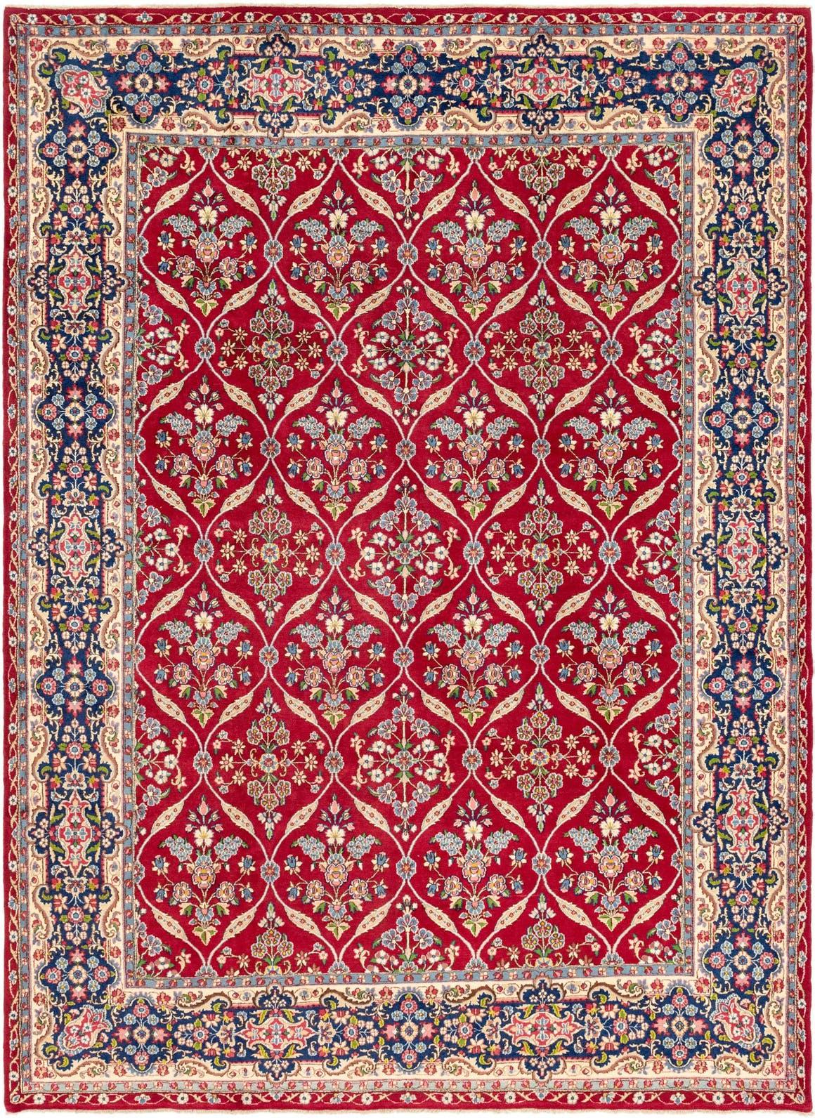 9' 10 x 13' 4 Kerman Persian Rug main image