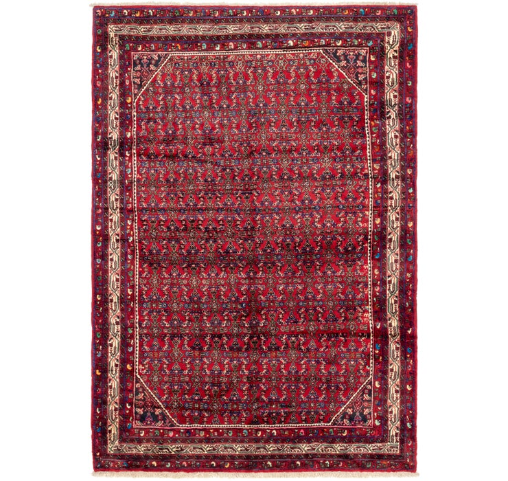 213cm x 318cm Hossainabad Persian Rug