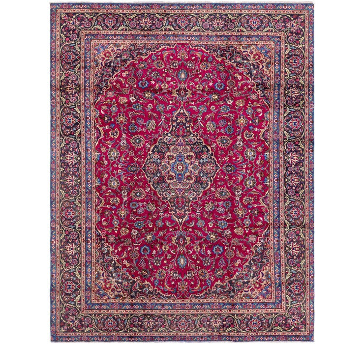 282cm x 375cm Mashad Persian Rug