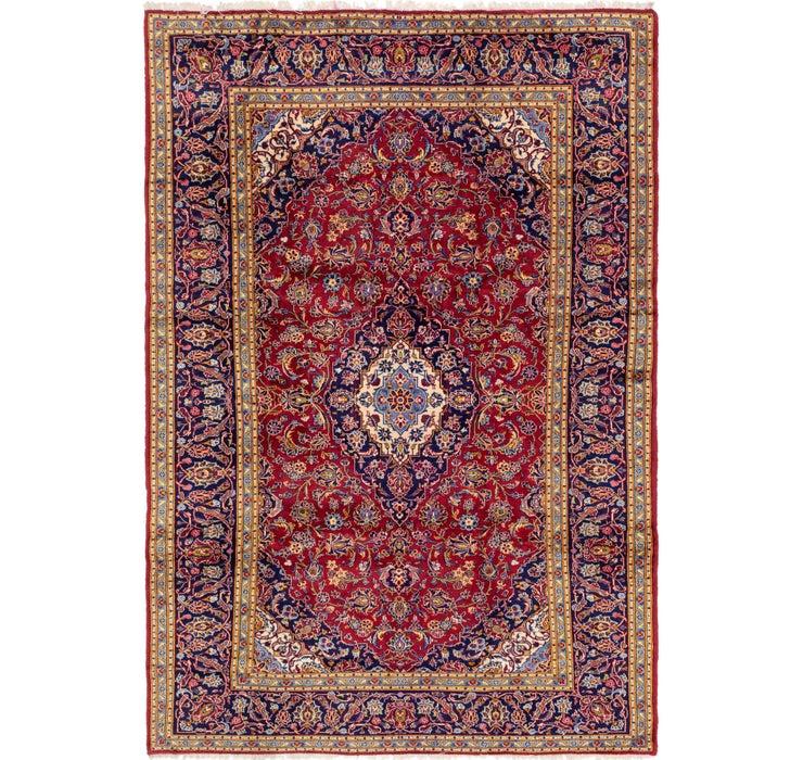255cm x 375cm Kashan Persian Rug