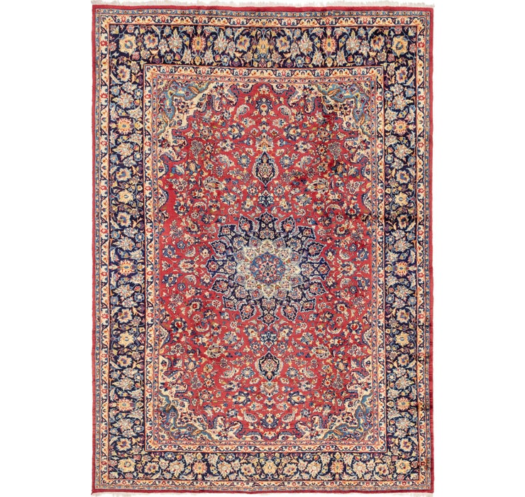 9' 6 x 14' Isfahan Persian Rug