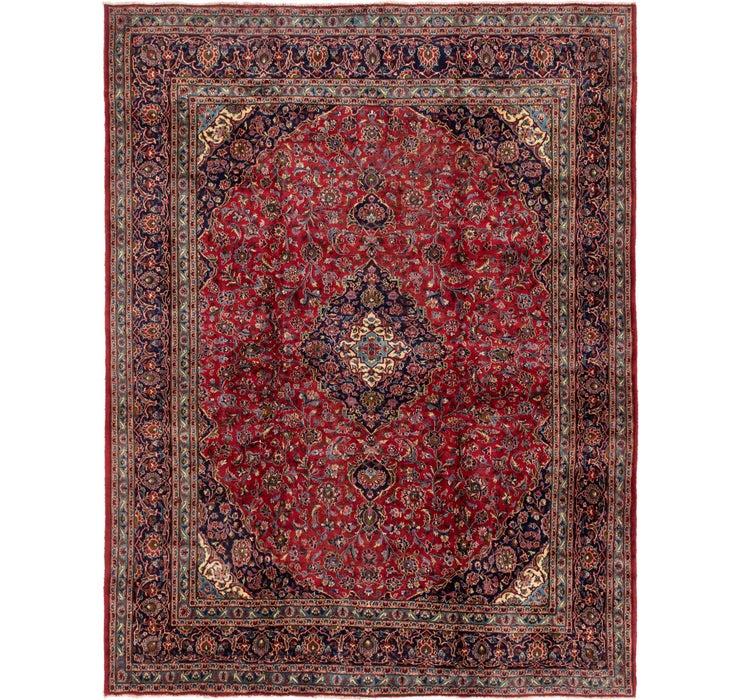 297cm x 370cm Mashad Persian Rug