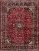 297cm x 370cm Mashad Persian Rug thumbnail image 1