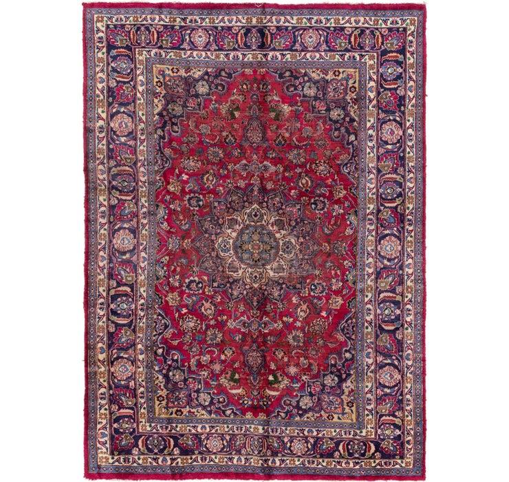 195cm x 287cm Mashad Persian Rug