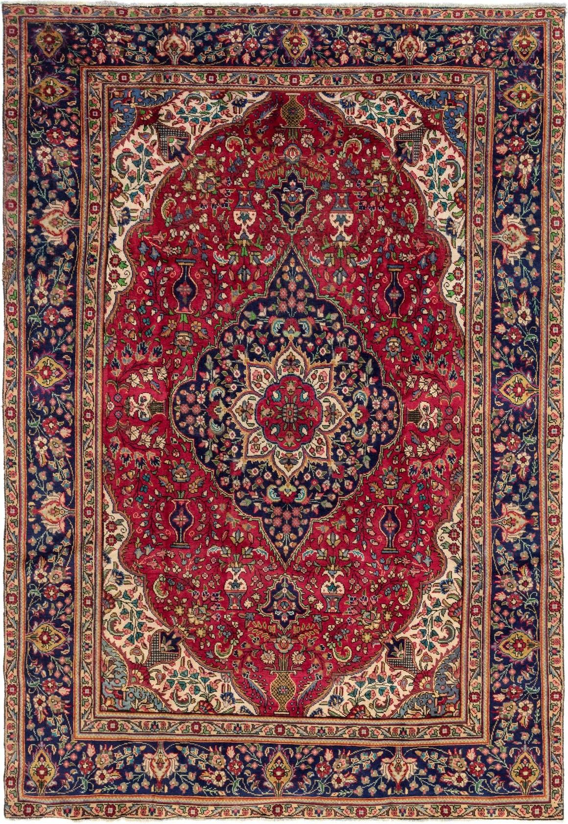 8' x 11' 5 Tabriz Persian Rug main image