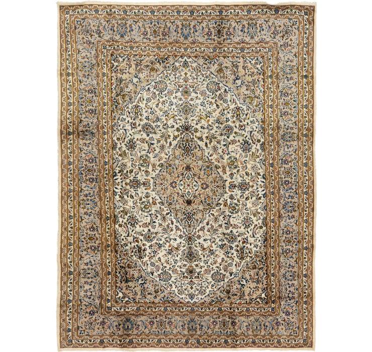 8' 2 x 11' 3 Kashan Persian Rug