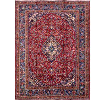 Image of  9' 5 x 12' 6 Mashad Persian Rug