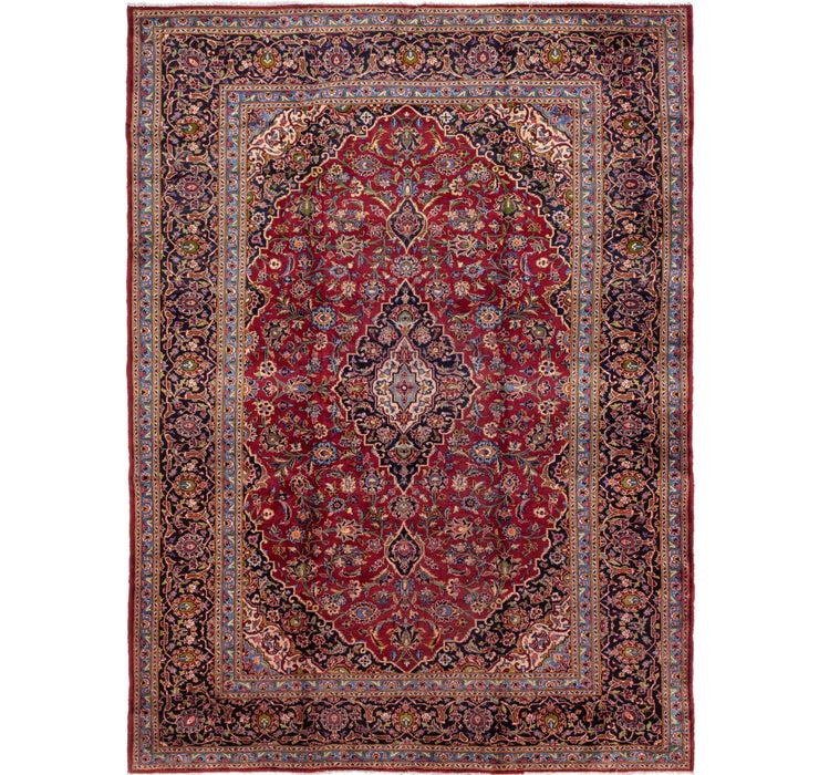 287cm x 395cm Mashad Persian Rug