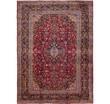 Image of  9' 5 x 13' Mashad Persian Rug