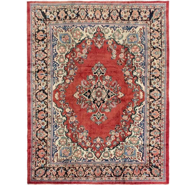 9' x 12' Meshkabad Persian Rug