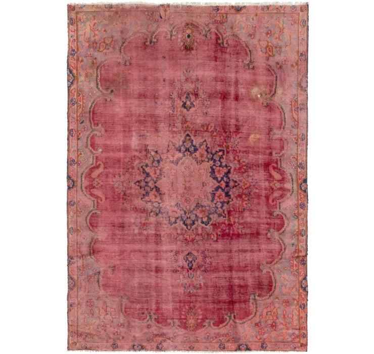7' x 10' 7 Tabriz Persian Rug