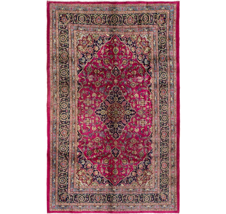 195cm x 305cm Mashad Persian Rug