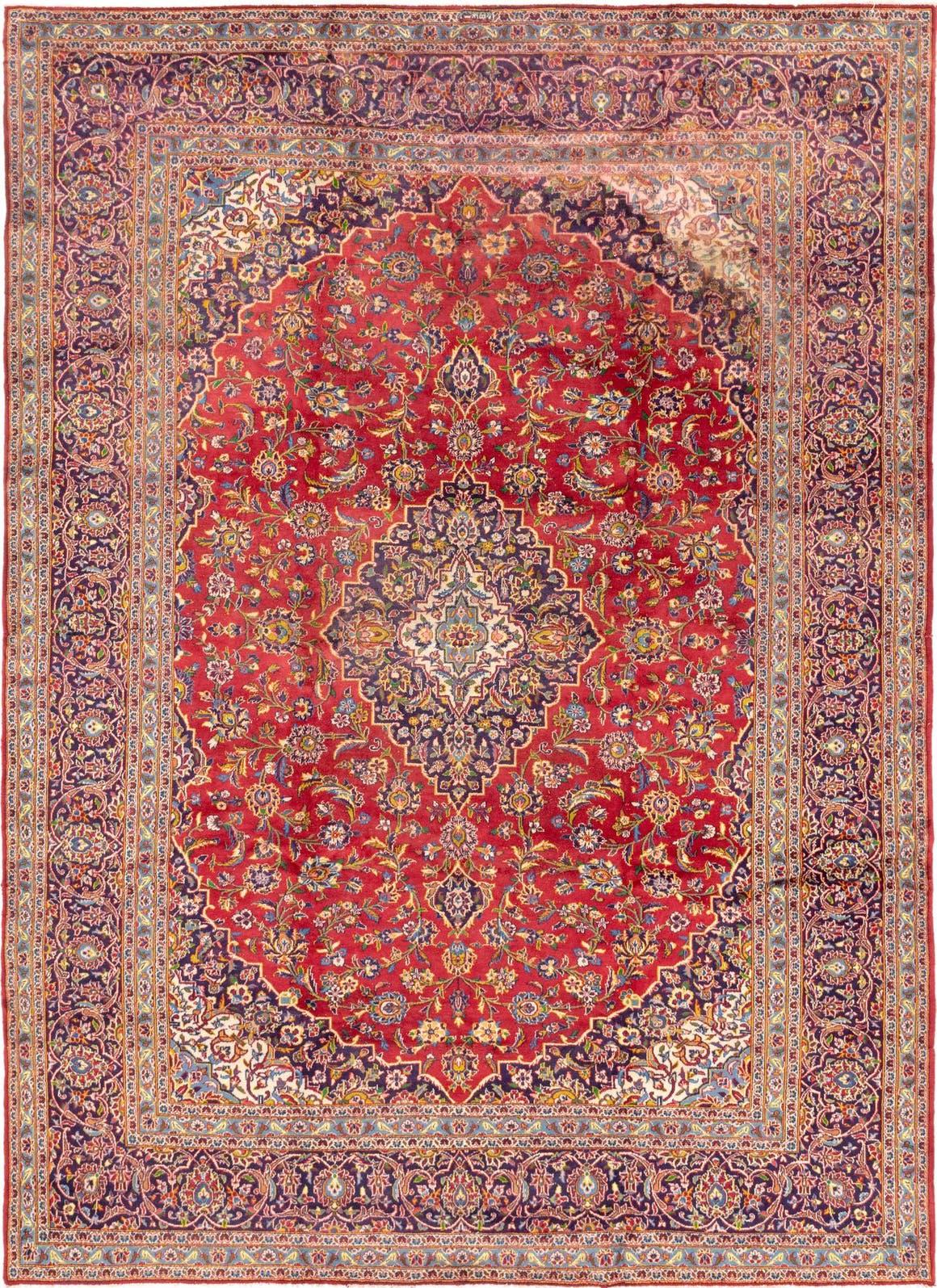 10' x 13' 6 Kashan Persian Rug main image