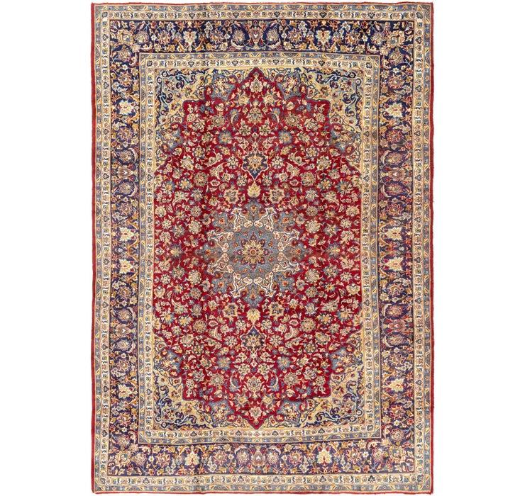 9' 7 x 14' 3 Isfahan Persian Rug