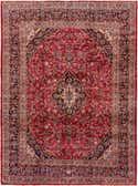 9' 9 x 12' 9 Mashad Persian Rug thumbnail