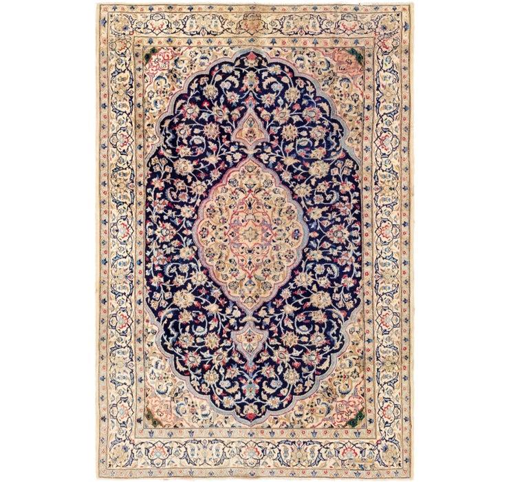 6' 6 x 10' Nain Persian Rug