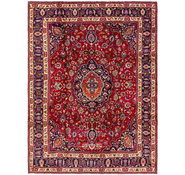 280cm x 373cm Mashad Persian Rug
