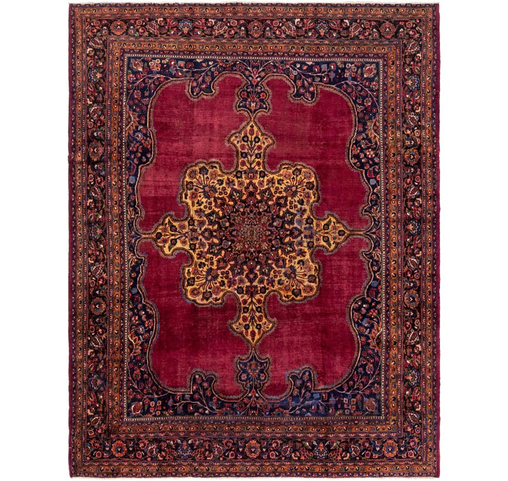 Image of 10' 6 x 13' 6 Birjand Persian Rug