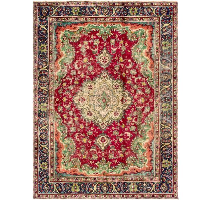 7' 2 x 10' 8 Tabriz Persian Rug