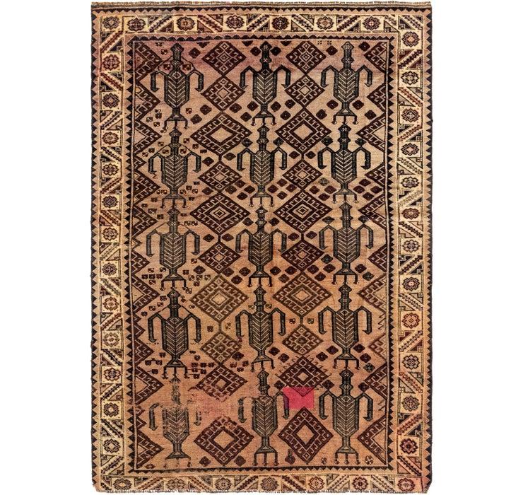 188cm x 275cm Shiraz Persian Rug