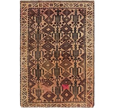 6' 2 x 9' Shiraz Persian Rug main image