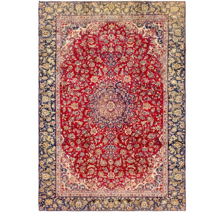 282cm x 400cm Mashad Persian Rug