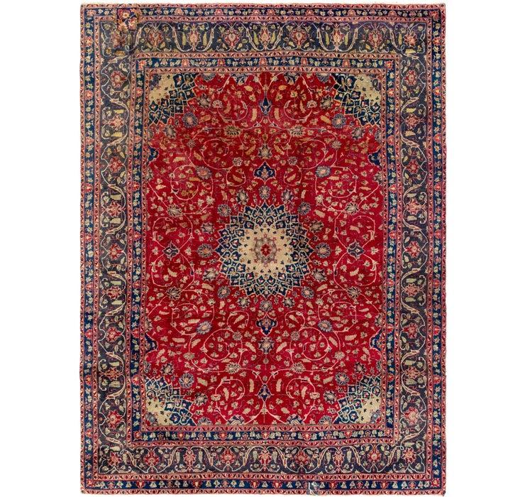 8' 2 x 10' 9 Kashmar Persian Rug