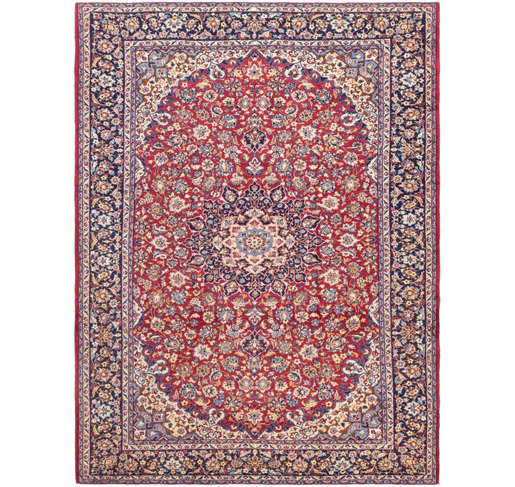 300cm x 395cm Isfahan Persian Rug