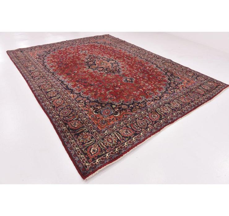 290cm x 378cm Mashad Persian Rug