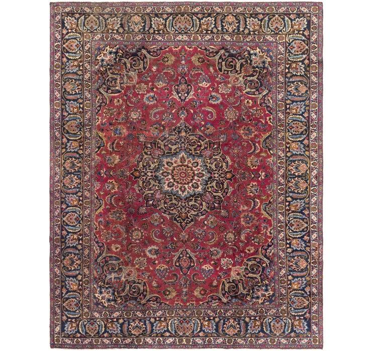 8' 6 x 10' 9 Mashad Persian Rug